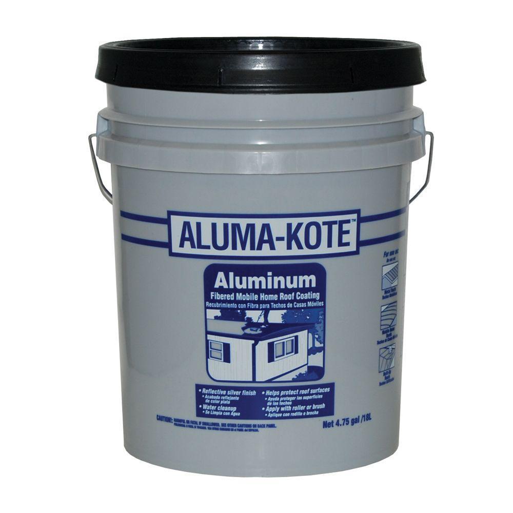 Gardner 4.75-Gal. Aluma Kote Mobile Home Aluminum Roof Coat Low VOC-DISCONTINUED