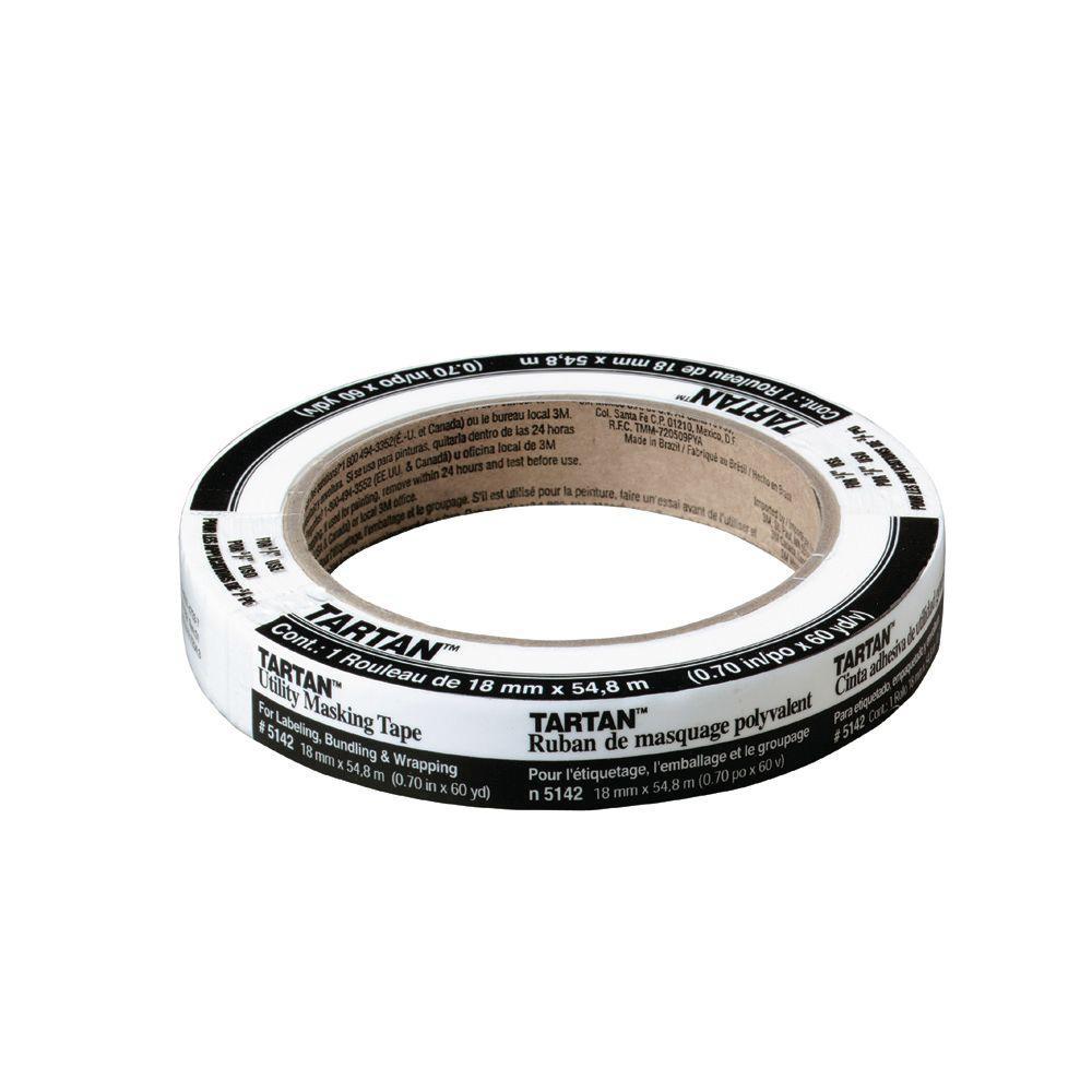 Tartan 0.70 in. x 60 yds. Utility Masking Tape