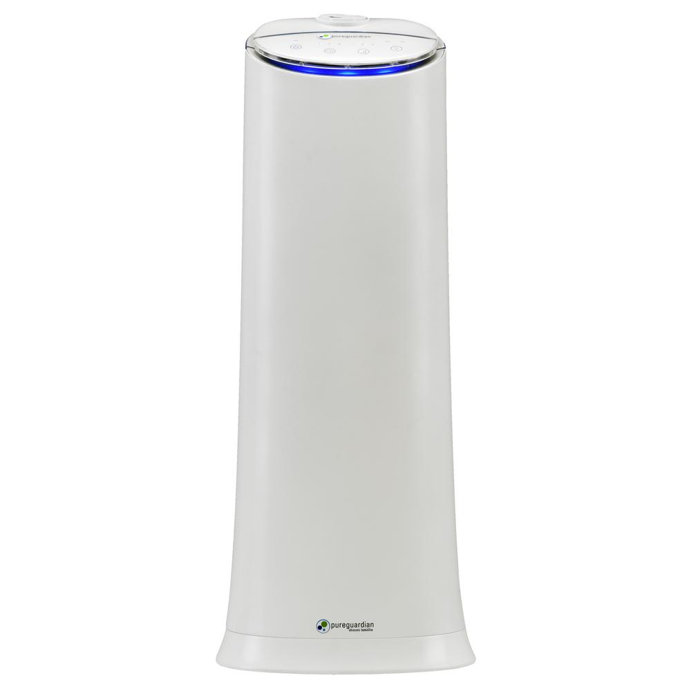 PureGuardian H3200WAR 100-Hour Ultrasonic Cool Mist Humidifier Tower with Aromatherapy, 1.5-Gallons