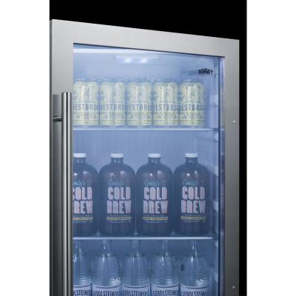 19 in. 3.1 cu. ft. Outdoor Refrigerator in Black