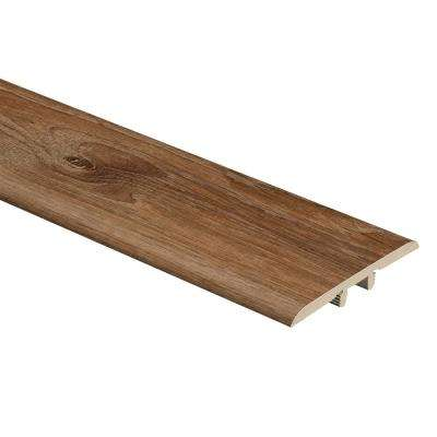 Burnt Oak 1/3 in. Thick x 1-3/4 in. Wide x 72 in. Length Vinyl T-Molding
