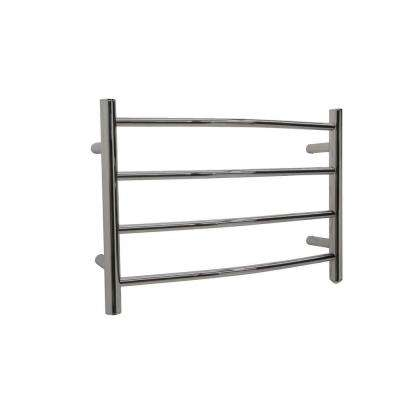 Glow 4-Bar Electric Towel Warmer in Brushed Nickel