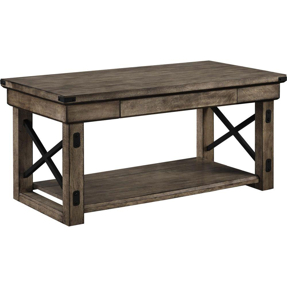 Forest Grove Gray Coffee Table