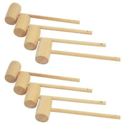 Wooden Crab Mallet (8-Pack)