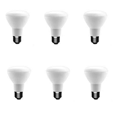 50-Watt Equivalent BR20 Dimmable CEC LED Light Bulb Daylight (6-Pack)