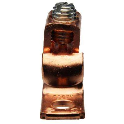 14-6 AWG Copper Single Hole Lug (5-Pack of 2)