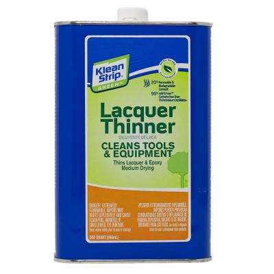 1 qt. Green Lacquer Thinner