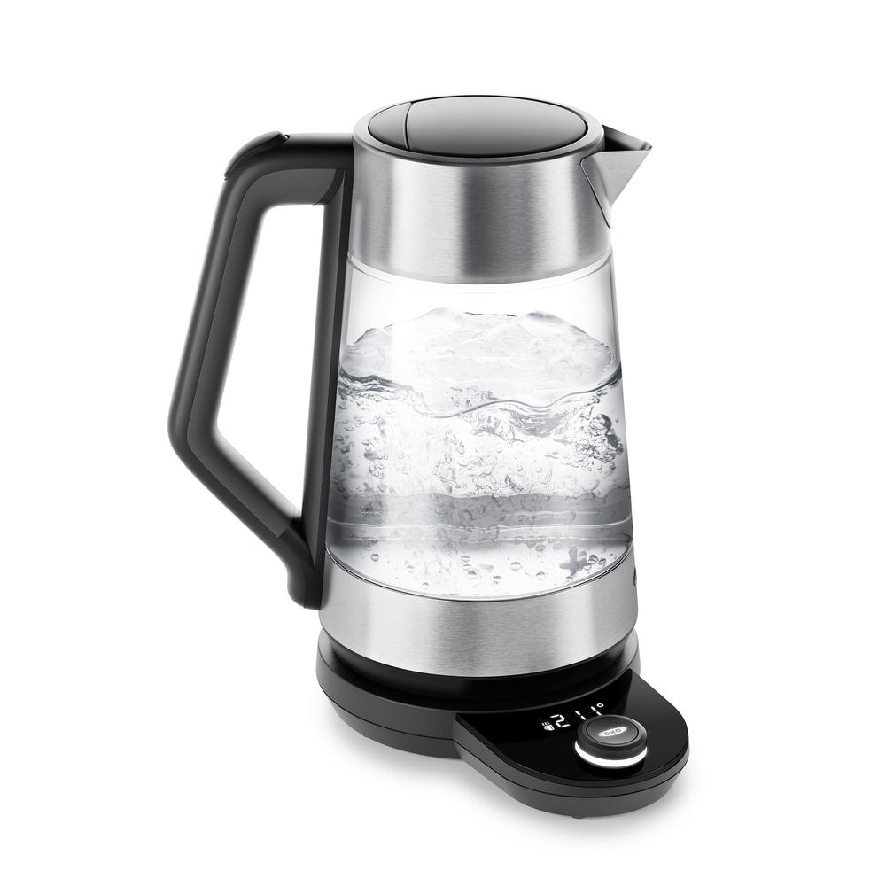 oxo 7 4 cup adjustable temperature kettle 8716900 the. Black Bedroom Furniture Sets. Home Design Ideas