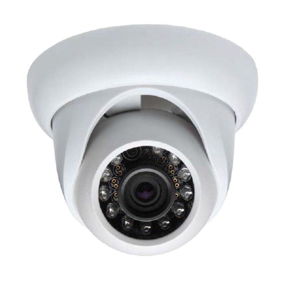 SeqCam Wired 700TVL Waterproof IR Mini Dome Indoor or Outdoor Standard Surveillance Camera