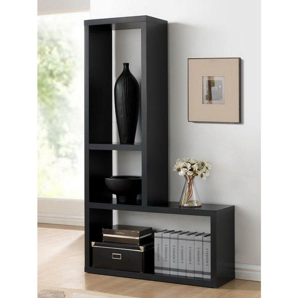 Rupal Dark Brown Open Bookcase