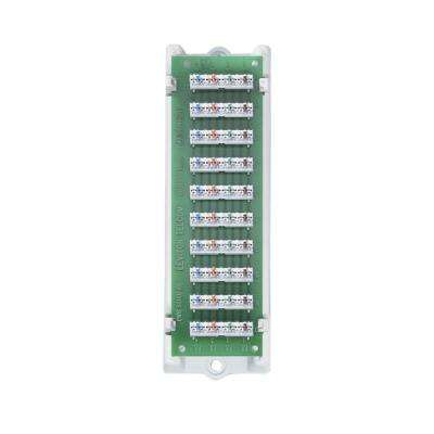 1x9 Structured Media Bridged Telephone Module with Bracket