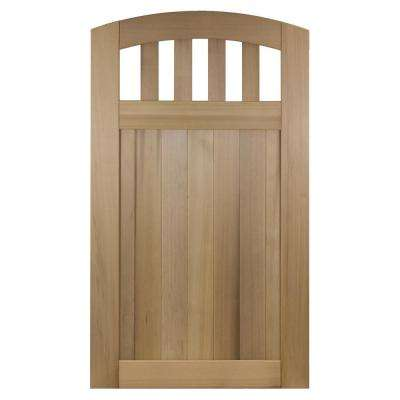100 Solid Cedar Wood Fence Gate