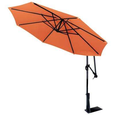 Spa Umbrella in Rust