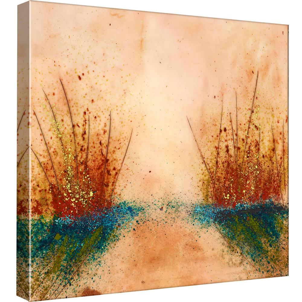 PTM Images 15.in x 15.in \'\'Paddling at Sunset\'\' Printed Canvas Wall ...