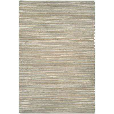 Nature's Elements Lodge Straw-Taupe 8 ft. x 11 ft. Area Rug