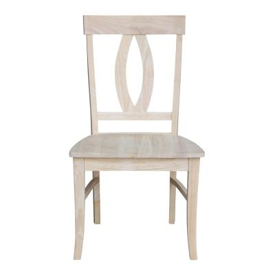 Verona Unfinished Wood Dining Chair (Set of 2)