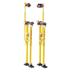 ToolPro 36 inch to 48 inch Magnesium Adjustable Drywall Stilts by ToolPro