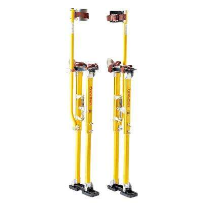 36 in. to 48 in. Magnesium Adjustable Drywall Stilts