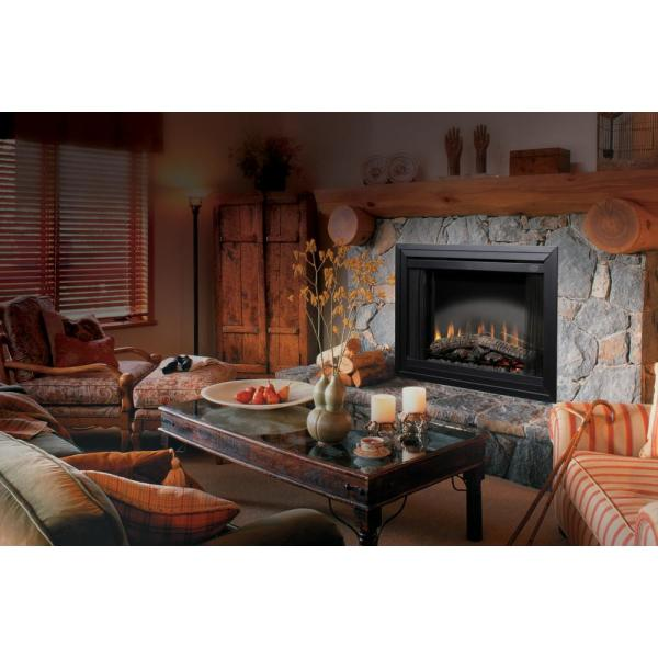 39 in. Standard Built-In Fireplace