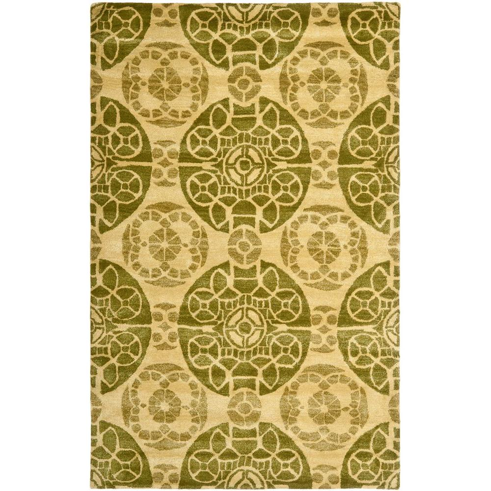 Safavieh Wyndham Turquoise Green 8 Ft X 10 Ft Area Rug