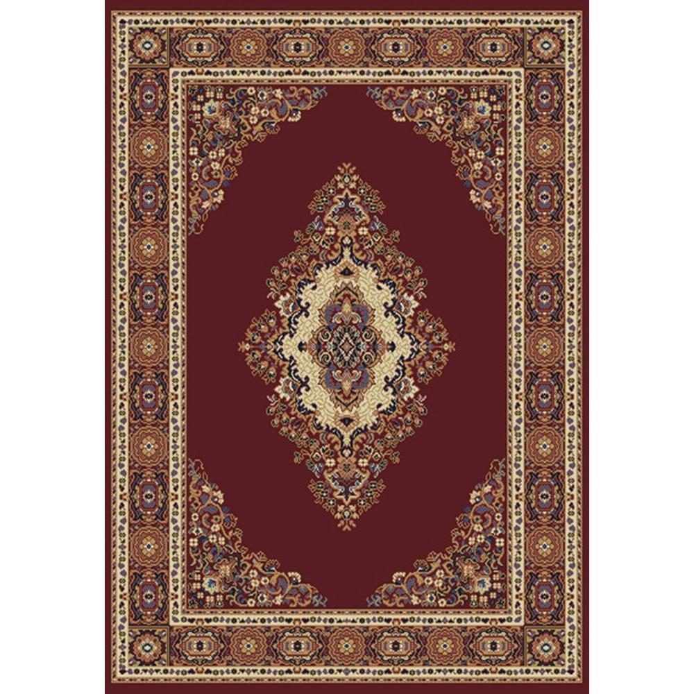 United Weavers Cathedral Burgundy 8 Ft. X 11 Ft. Area Rug