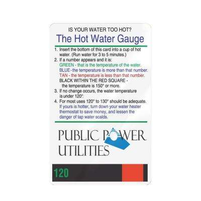 Hot Water Tester (4-Pack)
