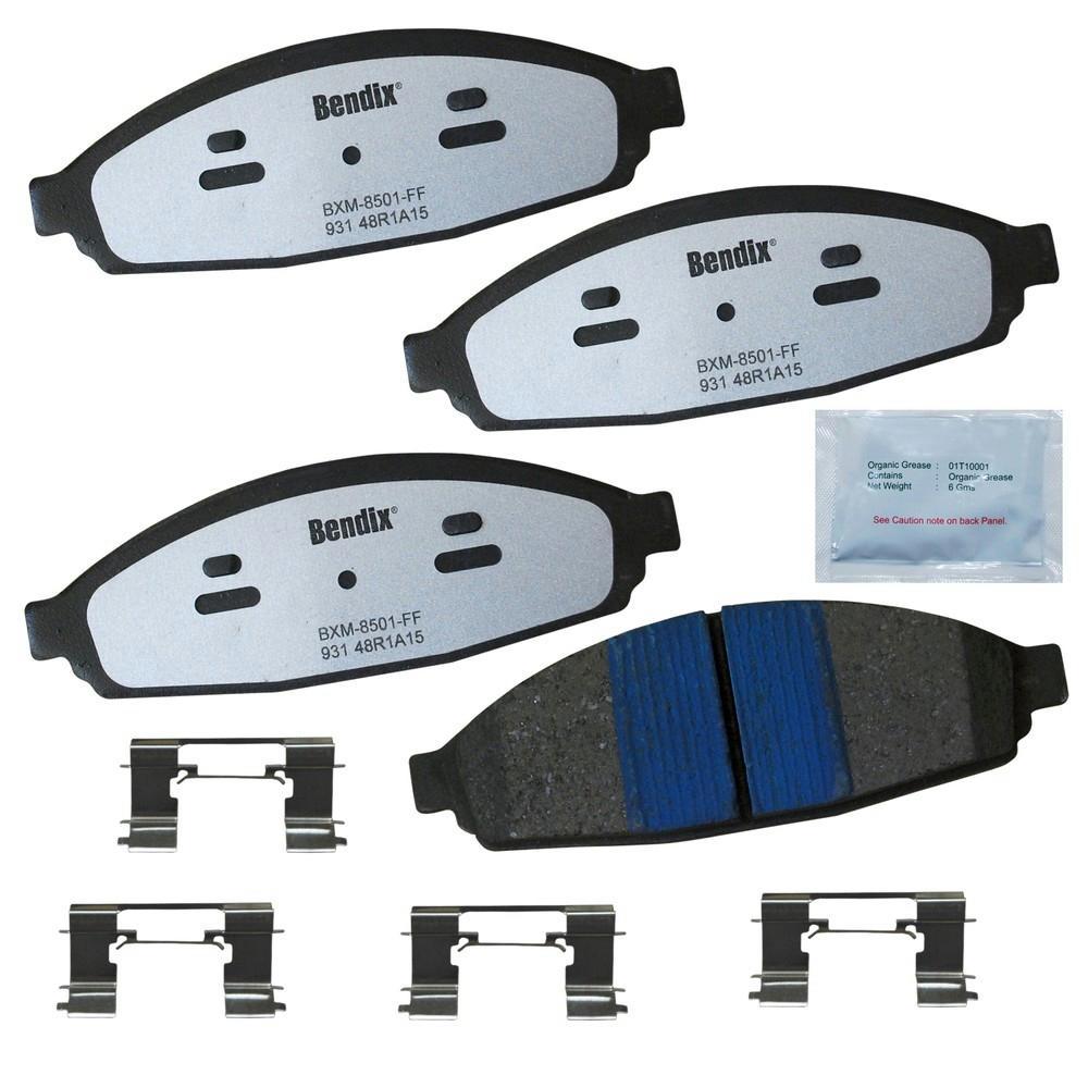 Front Police Low-Metallic SDR Disc Brake Pad fits 2003-2011 Mercury Grand Marquis Marauder