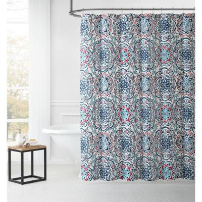 LEILA SHOWER CURTAIN