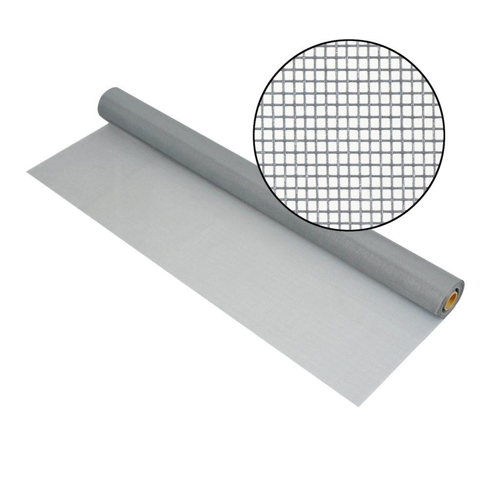 60 in. x 100 ft. Silvergray Fiberglass Screen