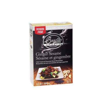 Premium Ginger Sesame Bisquettes (Box of 48)