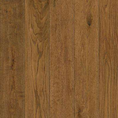 Take Home Sample - American Vintage Prairie Oak Solid Scraped Hardwood Flooring - 5 in. x 7 in.