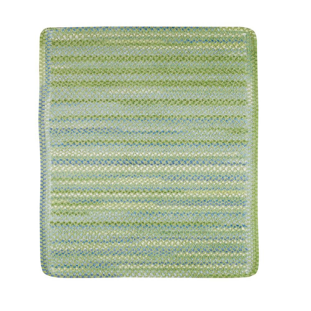 Capel Country Grove Sea Glass 3 ft. Square Accent Rug