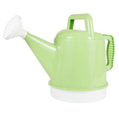 Watering Can 2.5 Gal. Honey Dew Plastic Deluxe Collection