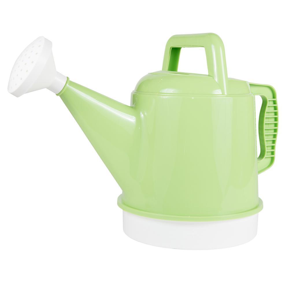 2.5 Gallon Honey Dew Watering Can Plastic Deluxe