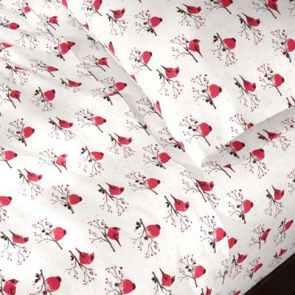 Cotton Flannel Printed Sheet Set