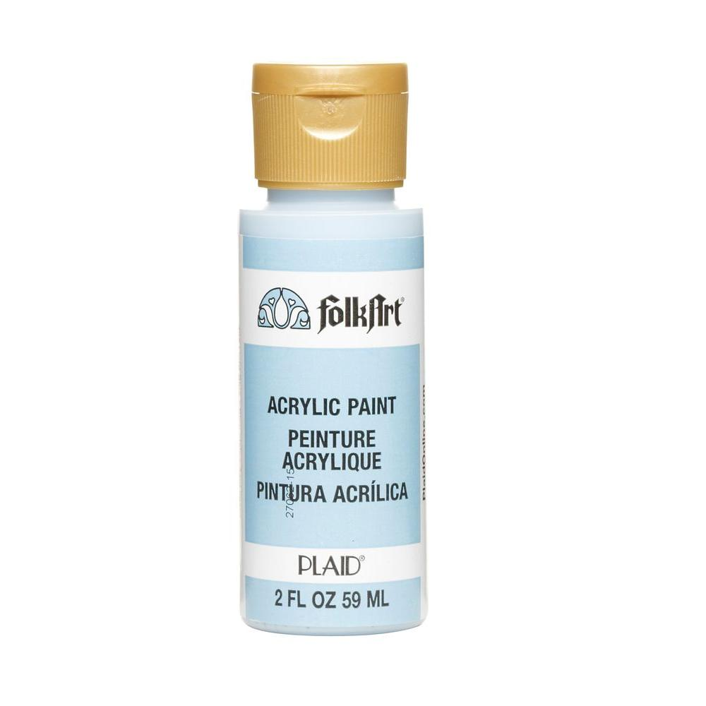 Light Blue Acrylic Craft Paint