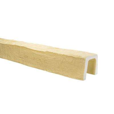 5 in. x 5 in. x 13 ft. Unfinished Hand Hewn Faux Wood Beam