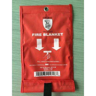 Small Emergency Fire Blanket