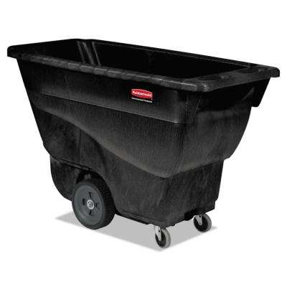 450 lb. Capacity Black Structural Foam Tilt Truck