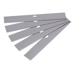 QEP 4 inch Wide Replacement Blade for Razor Scrapers and Strippers (5-Pack) by QEP