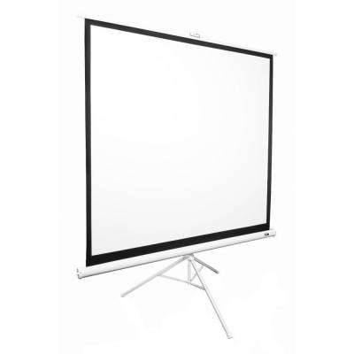 99 in. Tripod Portable Projection Screen - Matte White