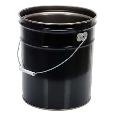 5 Gal. Black Steel UN Rated Pail