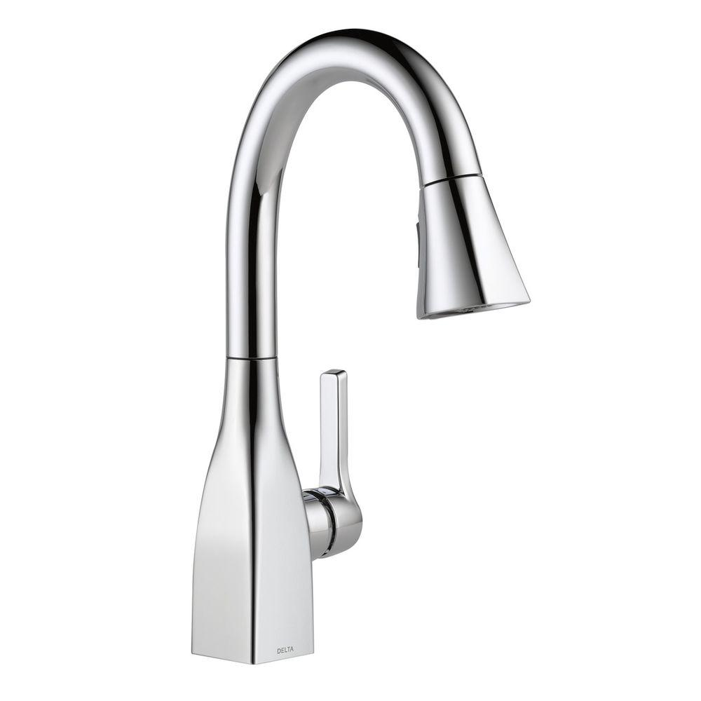 Delta Single Handle Kitchen Faucet Wand