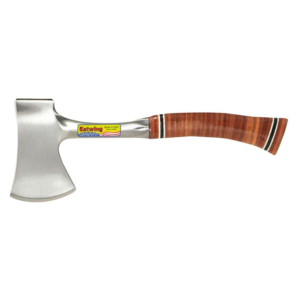 Estwing 12 in  Sportsman's Axe with Leather Grip