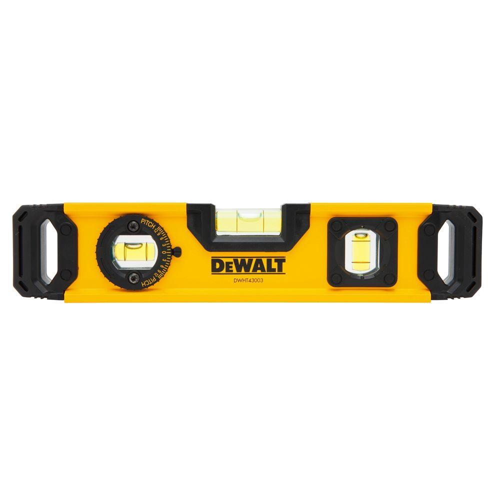 Dewalt 9 In Torpedo Level Dwht43003 The Home Depot