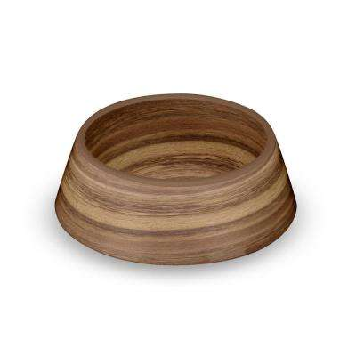 Acacia Wood Medium Pet Bowl