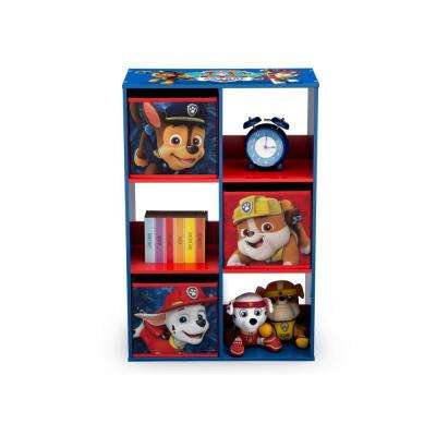 Nick Jr. PAW Patrol Multi-Color 6-Cubby Storage Unit