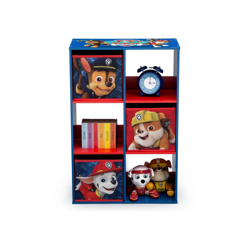 Nick Jr. PAW Patrol Multi-Color 6-Cubby Storage Unit