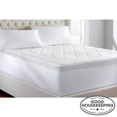 3 in. Quilted Gel Memory Foam Queen Mattress Topper