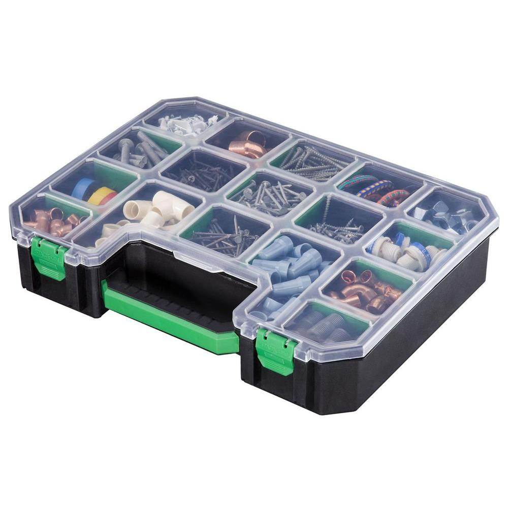 Stack-On 17-Compartment Deluxe Small Parts Organizer
